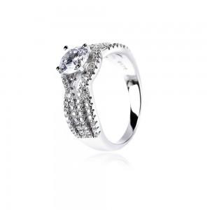 Nhẫn bạc Darius