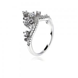 Nhẫn bạc Flower Crown