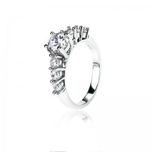 Nhẫn bạc Jasmine
