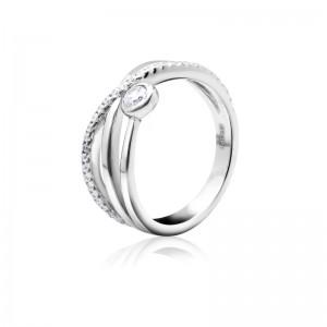 Nhẫn bạc Jolie