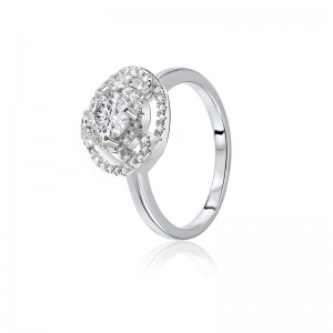 Nhẫn bạc Katy