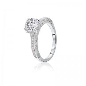 Nhẫn bạc Kayla Love