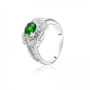Nhẫn bạc Kim Lady