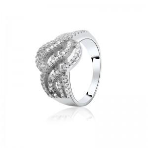 Nhẫn bạc Krystal
