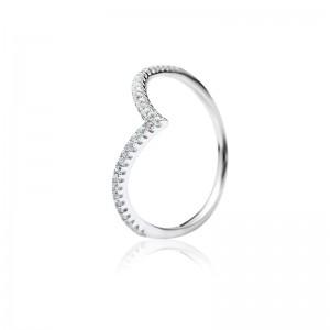 Nhẫn bạc Lenna Heart