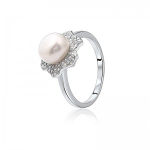 Nhẫn bạc Little Pearl
