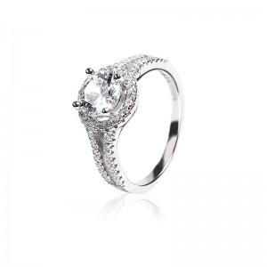Nhẫn bạc Luana