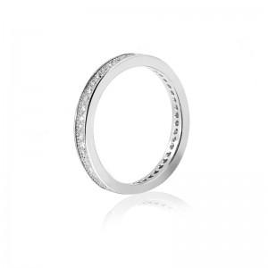 Nhẫn bạc Luna Love