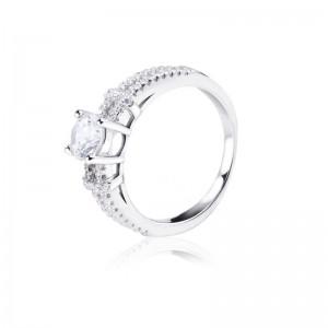 Nhẫn bạc Luxurious