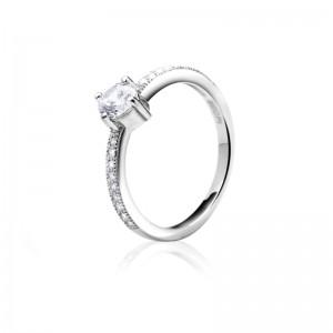 Nhẫn bạc Mabel