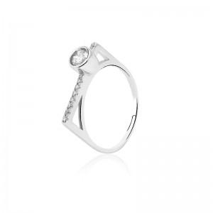 Nhẫn bạc Marigold