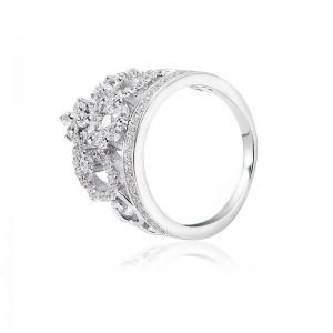 Nhẫn bạc Myrna Love