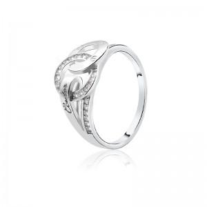 Nhẫn bạc Queen Mi