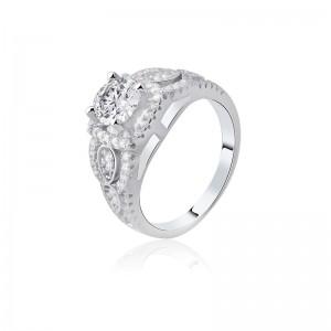 Nhẫn bạc Regina