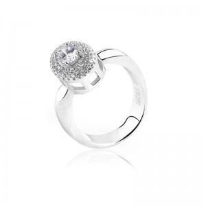 Nhẫn bạc Sakura Love