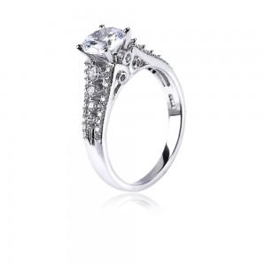 Nhẫn bạc Sakura