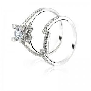 Nhẫn bạc Sephiara Like