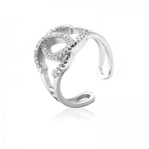 Nhẫn bạc Style Chanel