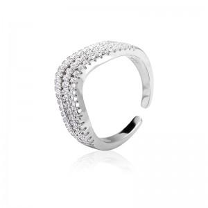 Nhẫn bạc Weavesilk