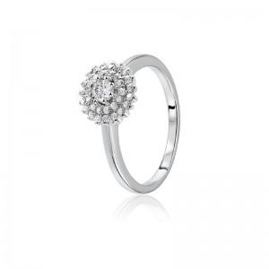 Nhẫn bạc Xiumi