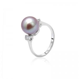 Nhẫn vàng 18k Faerie Pearl