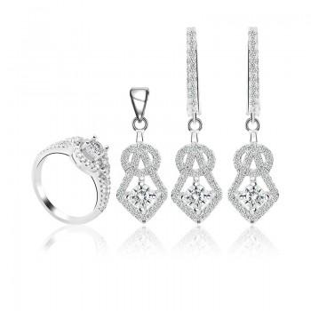 Bộ trang sức bạc Alena Beautiful