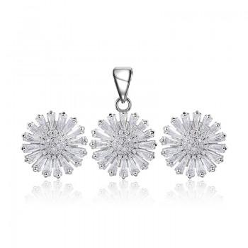 Bộ trang sức bạc Alida Love