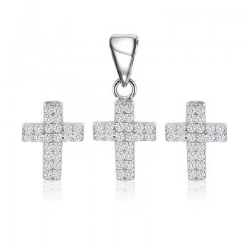 Bộ trang sức bạc Mark Cross