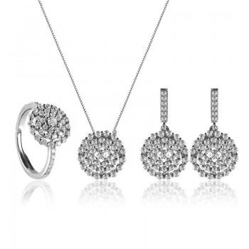 Bộ trang sức bạc Tinna Love
