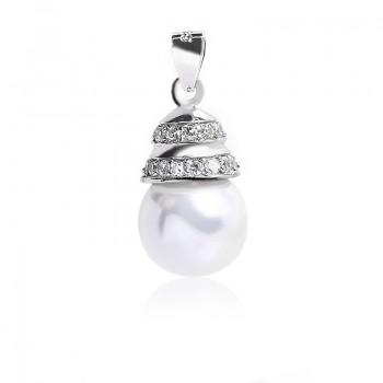 Mặt dây chuyền bạc Pearl Lamp