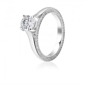Nhẫn bạc Hana Classic