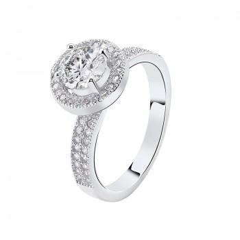 Nhẫn bạc Rossa Love