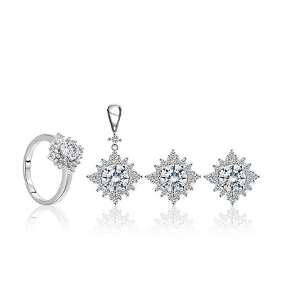 Bộ trang sức bạc Erica Love