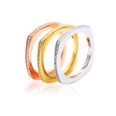 Nhẫn bạc Color Love