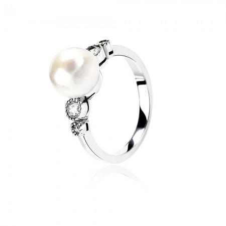 Nhẫn bạc Love Pearl
