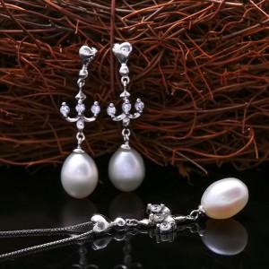 Bộ trang sức bạc Sweet Pearl