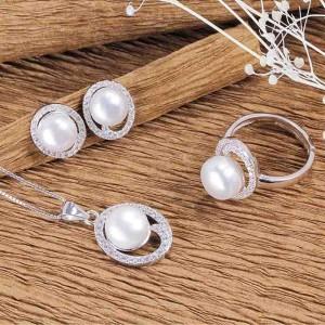 Bộ trang sức bạc Wonderful Pearl