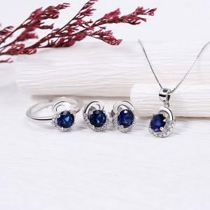 Bộ trang sức bạc Fidelia Love