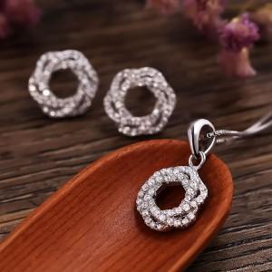 Bộ trang sức bạc Vera Love