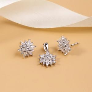 Bộ trang sức bạc Aure Love