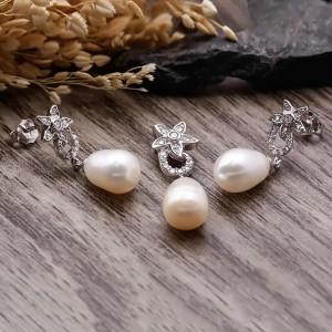 Bộ trang sức bạc Chriselda Love