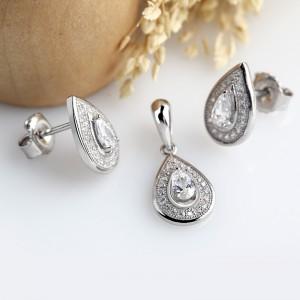 Bộ trang sức bạc Crying