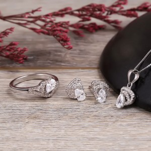 Bộ trang sức bạc Daria Love