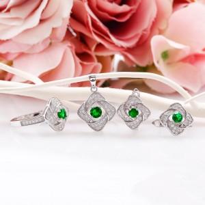 Bộ trang sức bạc Desca Love