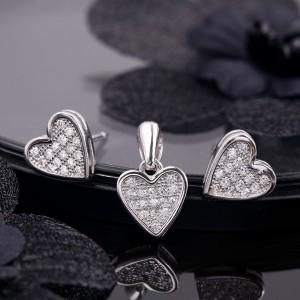 Bộ trang sức bạc Despa Love