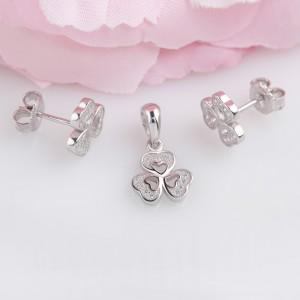 Bộ trang sức bạc Duzy Flower