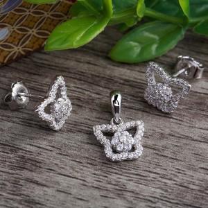 Bộ trang sức bạc Elena Butterfly
