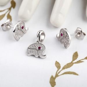 Bộ trang sức bạc Elephant