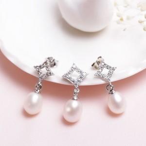 Bộ trang sức bạc Excellent Pearl
