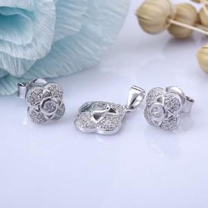 Bộ trang sức bạc Fresh Flower
